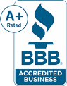 Swift Plumbing & Heating, Inc. and their Plumbing repair is accredited by the Better Business Bureau.